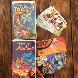 Vintage Original Disney VHS Set